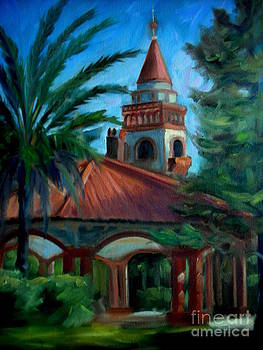 Flagler College Tower by Teri Tompkins