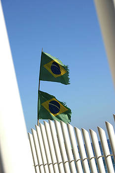 Frederico Borges - Flags in the wind