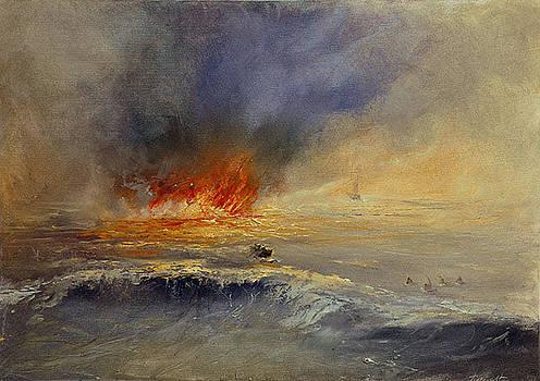 Flame by David Figielek