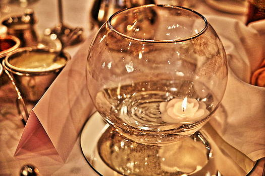 Flame in Glass by Al Shields