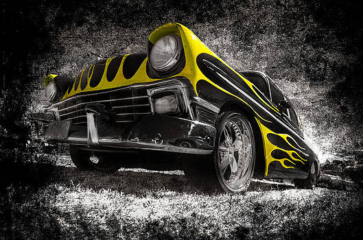 Flamed Chevrolet Bel Air by motography aka Phil Clark