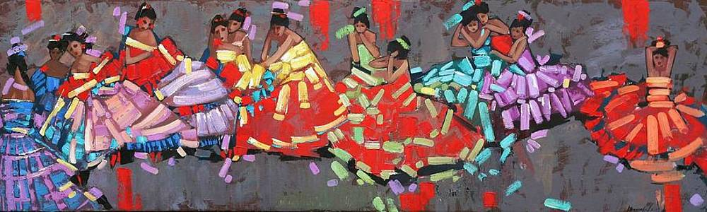 Anastasija Kraineva - Flamenco ....... remembering Degas