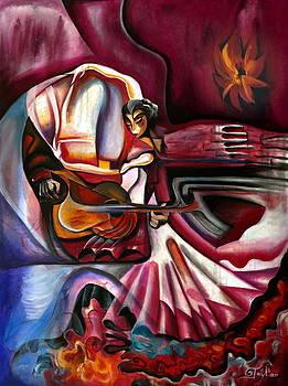 Flamenco Dancer by Gabriela  Taylor