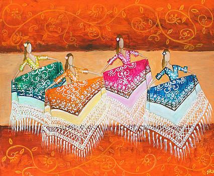 Flamenco Dancers by Sanjeev Nandan