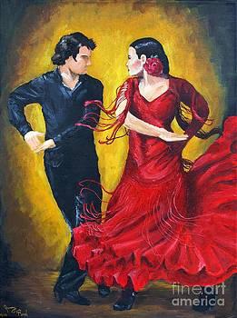 Flamenco by Jeremy Reed