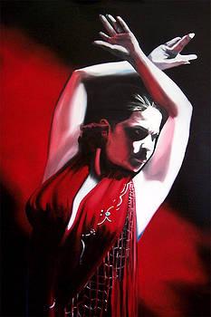 Flamenco Red by David Fedeli