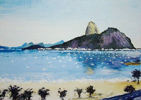 Flamengo - Rio de Janeiro - Brazil by Wagner Chaves