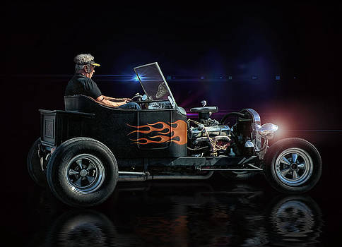 Flames Into The Night .... by Rat Rod Studios