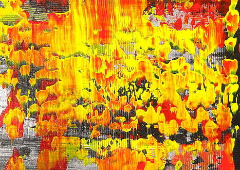 Flames of Abstract 2 by Dylan Chambers