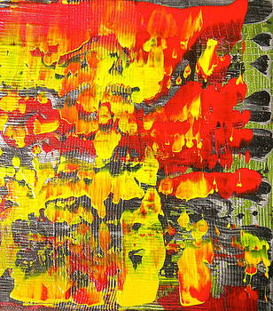 Flames of Abstract 6 by Dylan Chambers