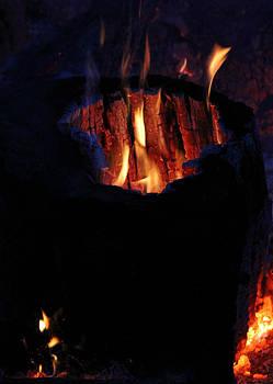 Flames retake by Connie Zarn
