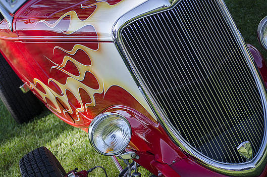 Flamin Hot Rod by Joie Cameron-Brown