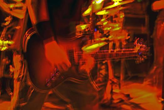 Leslie Cruz - Flaming Guitar