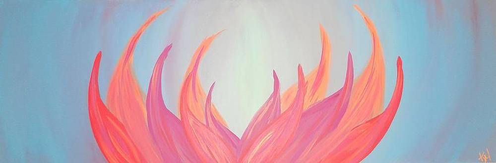 Flaming Lotus by Kate McTavish