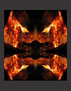 Flaming Row shack by Darryl  Kravitz
