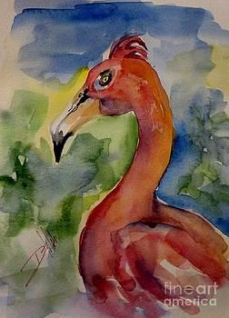 Flamingo by Delilah  Smith