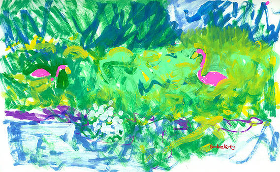 Candace Lovely - Flamingos in Maine