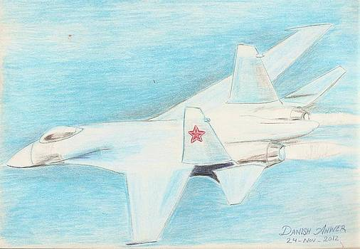 Flanker  Su-27 by Danish Anwer