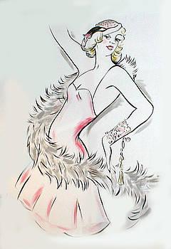 Flapper Girl by Melinda Saminski