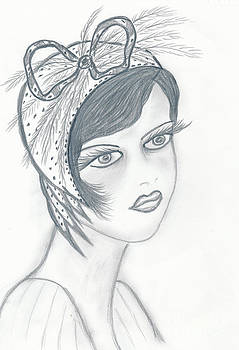 Flapper in A Bow by Sonya Chalmers