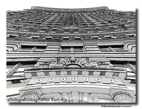 Flat Iron Building  II by Frank Garciarubio