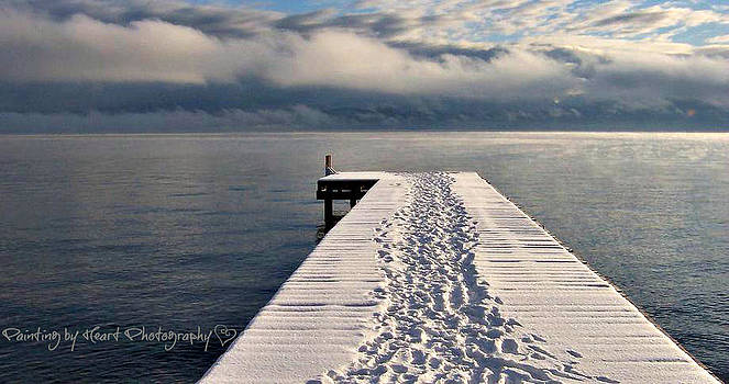 Flathead Lake by Deahn      Benware