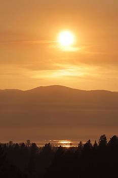 Connie Zarn - Flathead summer sunset
