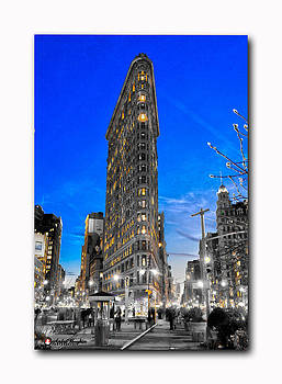 Flatiron Building by Andre Boykin