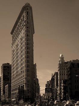 Flatiron Building by Donna Betancourt