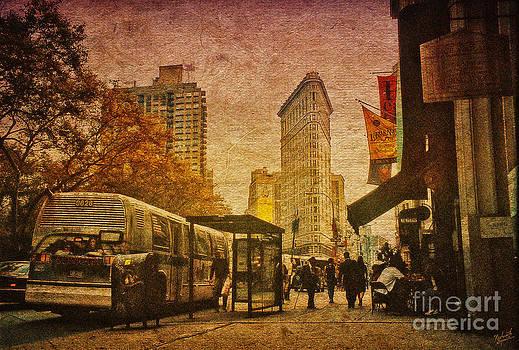 Flatiron Building New York by Nishanth Gopinathan