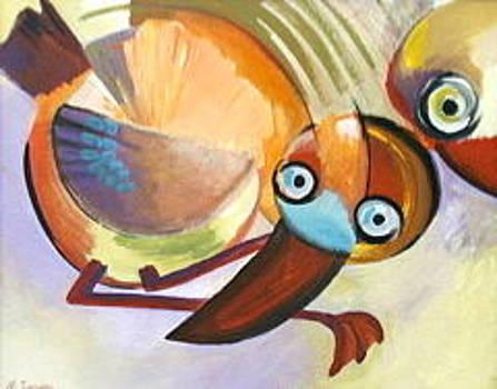 Fledgling by Noel Sandino
