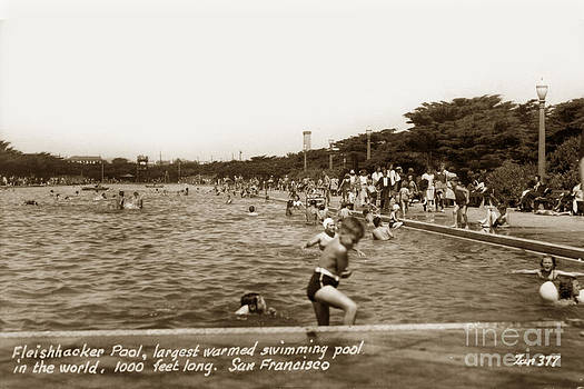 California Views Mr Pat Hathaway Archives - Fleishhacker Pool the largest swimming pool San Francisco in the World  1940