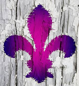 Jared Johnson - Fleur De Lis in Violet
