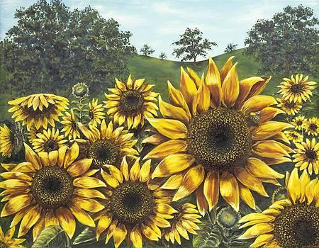 Fleur de Soleil by Patricia Crowley