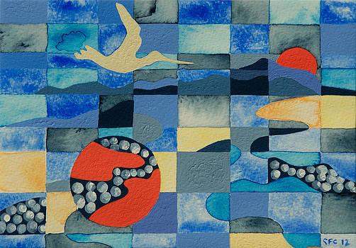 Flight of the Godwit  by Gillian Cronin