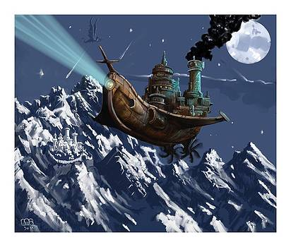 Flight of the Nautilus by Bob Cook