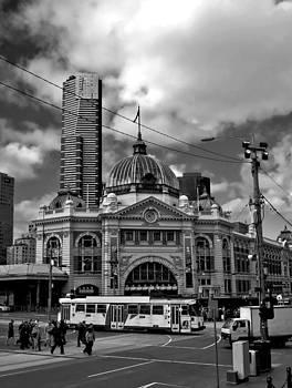 Flinders Street Station by Patrick OConnell