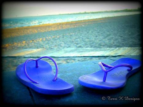 Flip Flop by Terri K Designs