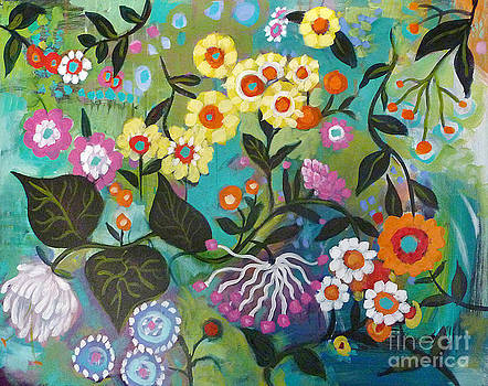 Floating Flowers by Carrie Tasman