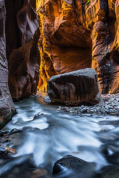 Floating Rock by Chuck Jason