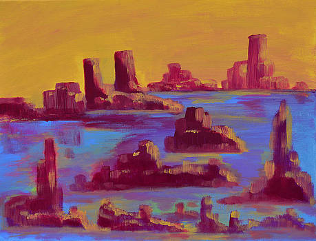 Donna Blackhall - Flooded Canyon