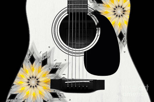 Andee Design - Floral Abstract Guitar 3