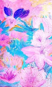 Anne-Elizabeth Whiteway - Floral Abstraction Fun