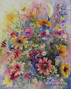 Floral Dance by Corynne Hilbert