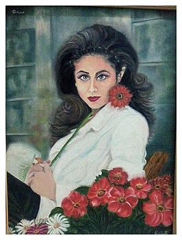 Floral Essence  by Rafath Khan