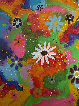 Floral Explosion by Lois D  Psutka