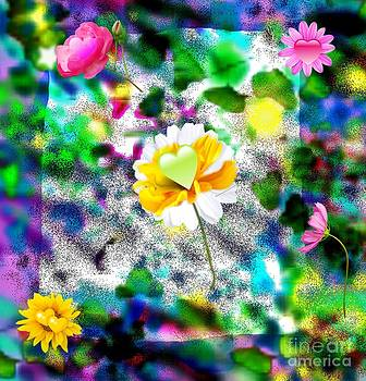 Floral Fantasy by Dawna Raven Sky