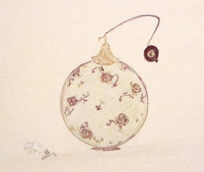 Floral Moss Perfume Bottle by Christine Corretti