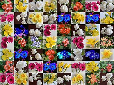 Bishopston Fine Art - Floral Patchwork