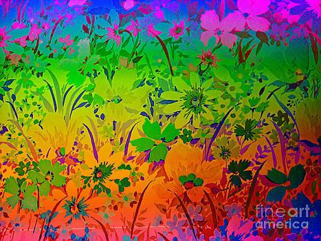 Floral Rainbow by Judy Palkimas